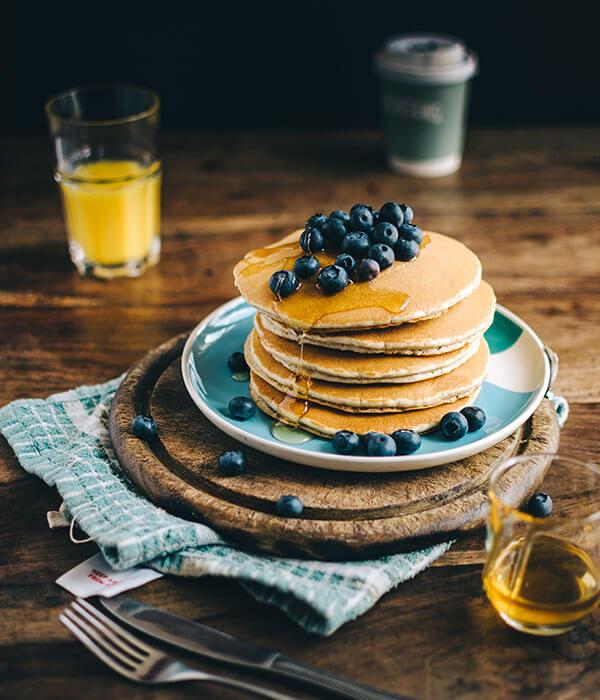 Detox Rezept für Pancakes von PANACEO