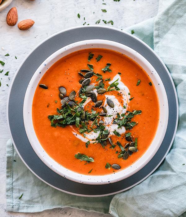 Detox Rezept für Tomatensuppe