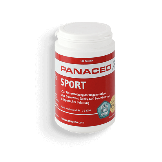 PANACEO Sport bei Leaky-Gut