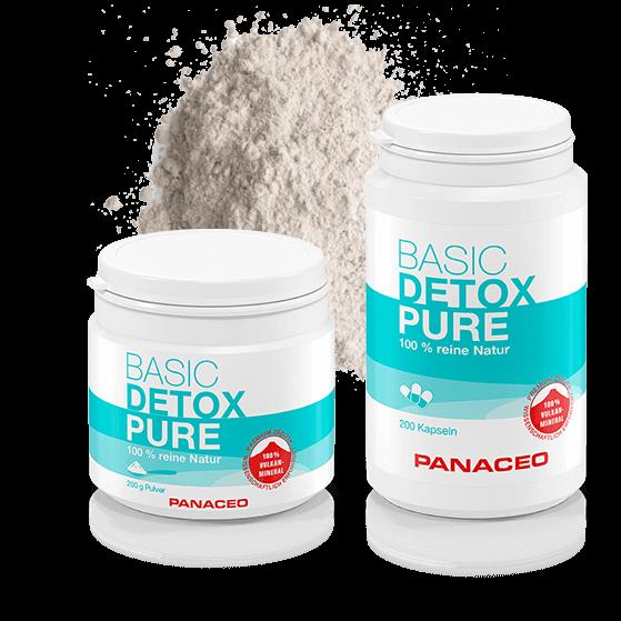 PANACEO Basic Detox Pure mit PMA-Zeolith