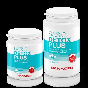 Panaceo Basic Detox Plus Pulver Kapseln